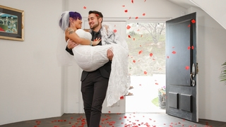 TS Foxxy Trans Bride Fucking Her Hubby Dante Colle