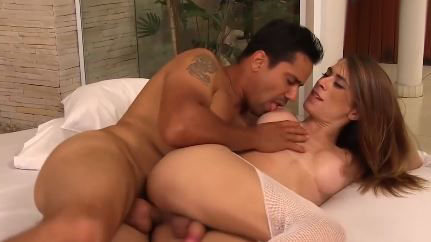Astonishing TS Loves Being Fucked