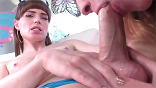 TS Babe Natalie Mars Getting Really Horny and Nasty with her Hot Girlfriend
