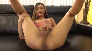 Gorgeous Andylynn Jerks Her Cock