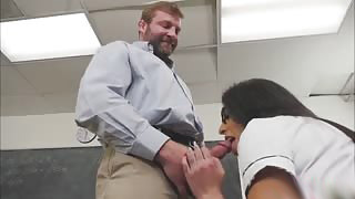 Horny Proffersor Finally Fucks Her Student TBabe Milli Quinzel